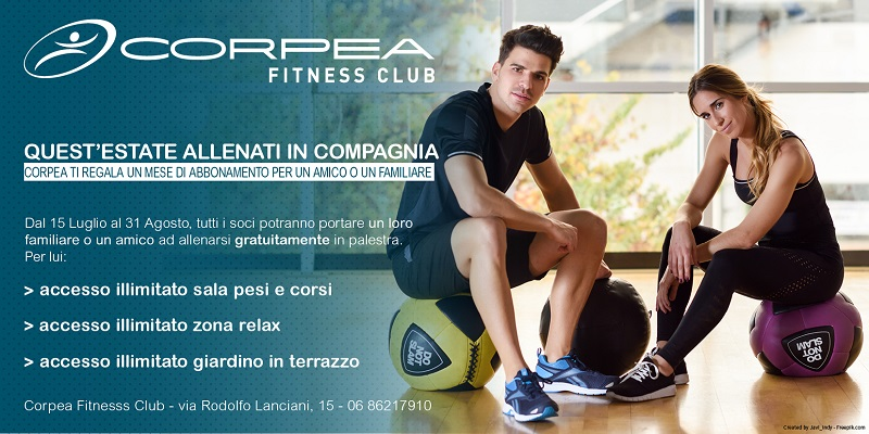 promozione Corpea Palestre roma